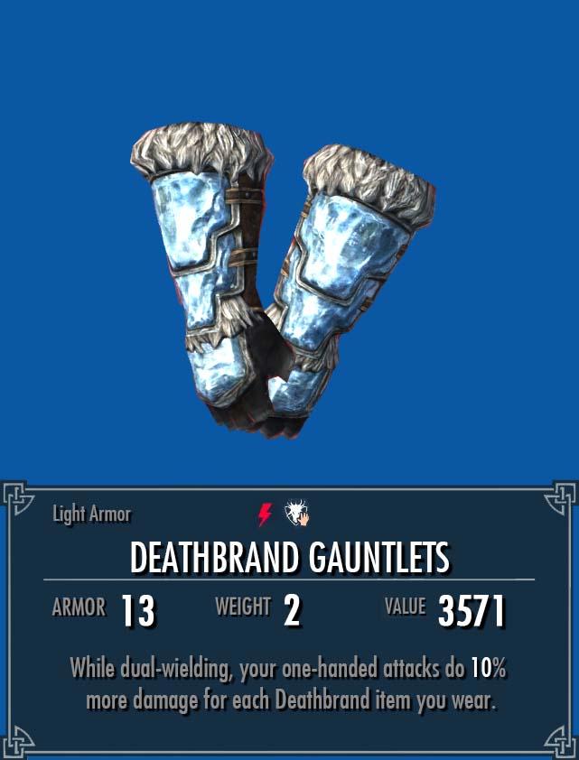 Deathbrand Gauntlets