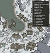 Dawnstar city map