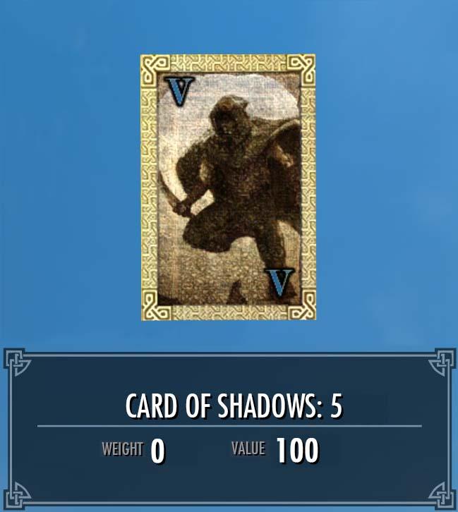 Card of Shadows: 5