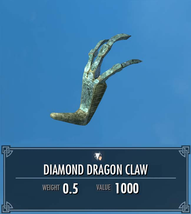 Diamond Dragon Claw
