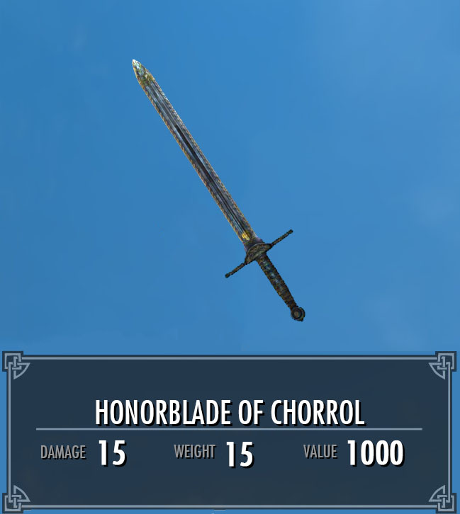 Honorblade of Chorrol