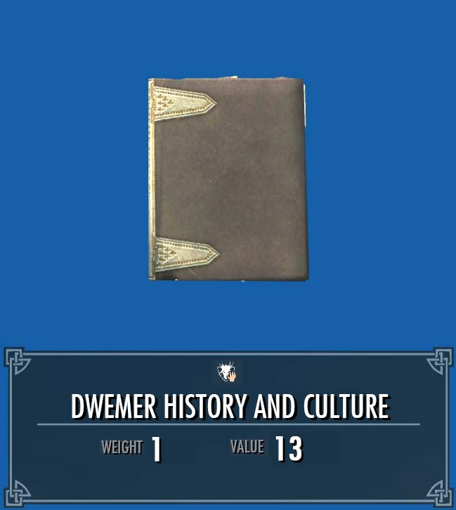 Dwemer History and Culture (2)