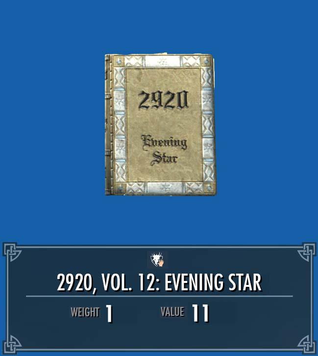 2920, Vol. 12: Evening Star