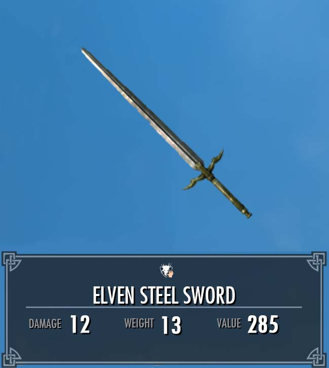 Elven Steel Sword