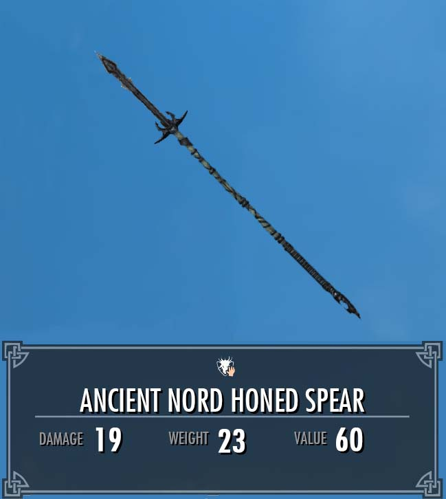 Ancient Nord Honed Spear