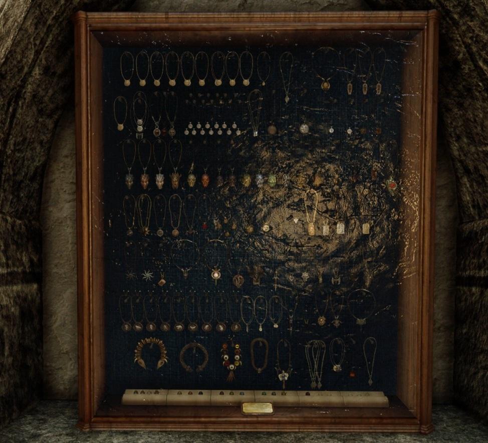 Amulets of Skyrim Display (SSE)