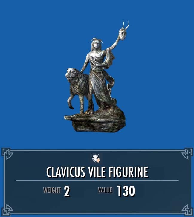 Clavicus Vile Figurine