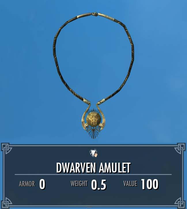 Dwarven Amulet