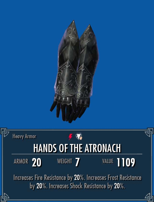 Hands of the Atronach
