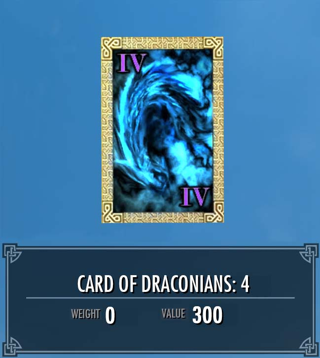 Card of Draconians: 4