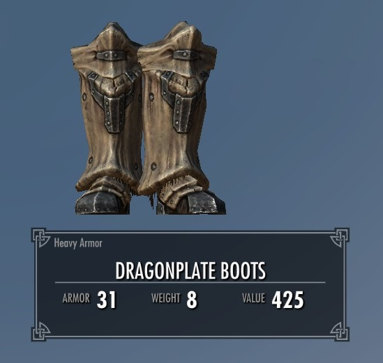 Dragonplate Boots