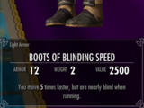 Boots of Blinding Speed