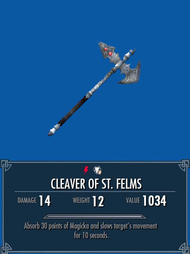 Cleaver of St. Felms