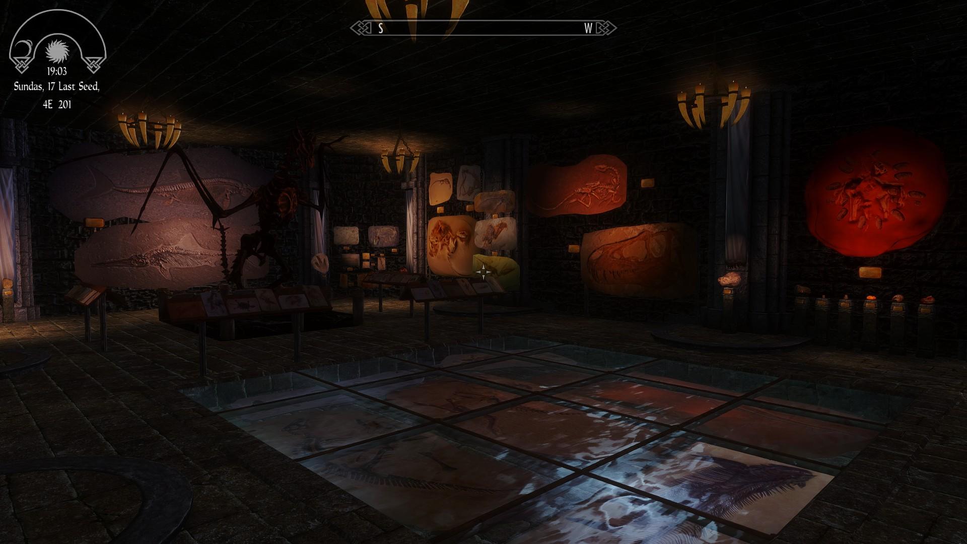 Fossil Mining Room (Classic Skyrim)