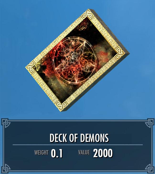 Deck of Demons