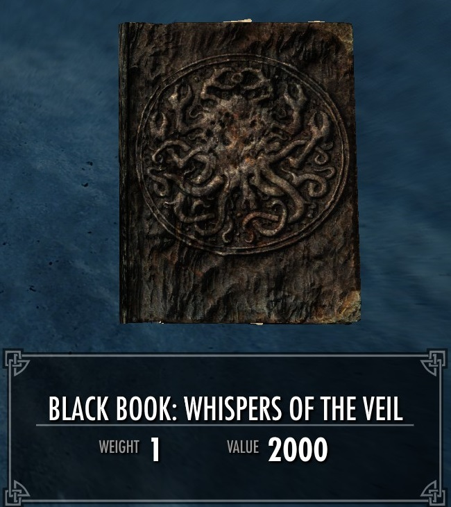 Black Book: Whispers of the Veil