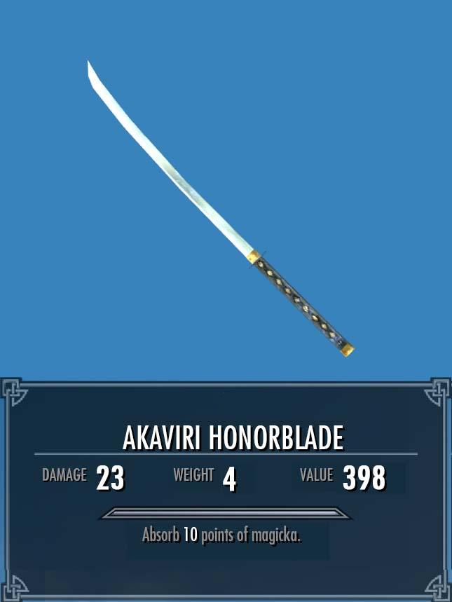 Akaviri Honorblade