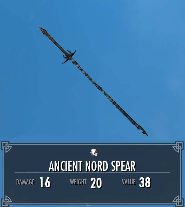 Ancient Nord Spear