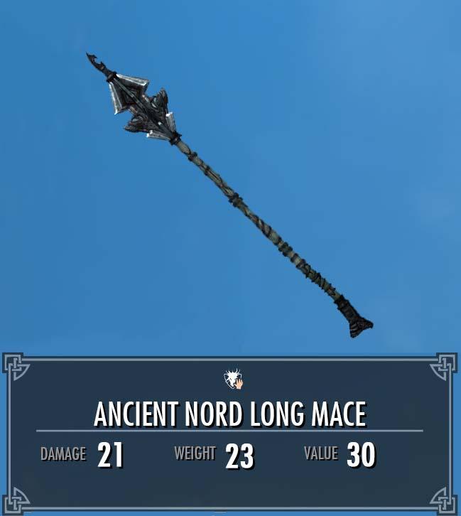 Ancient Nord Long Mace
