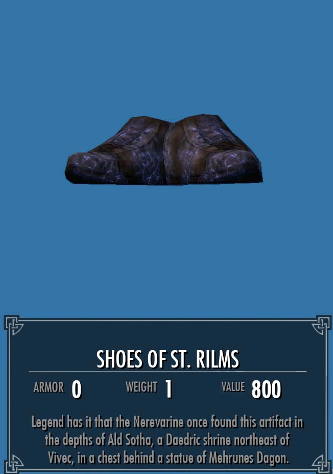 Shoes of St. Rilms