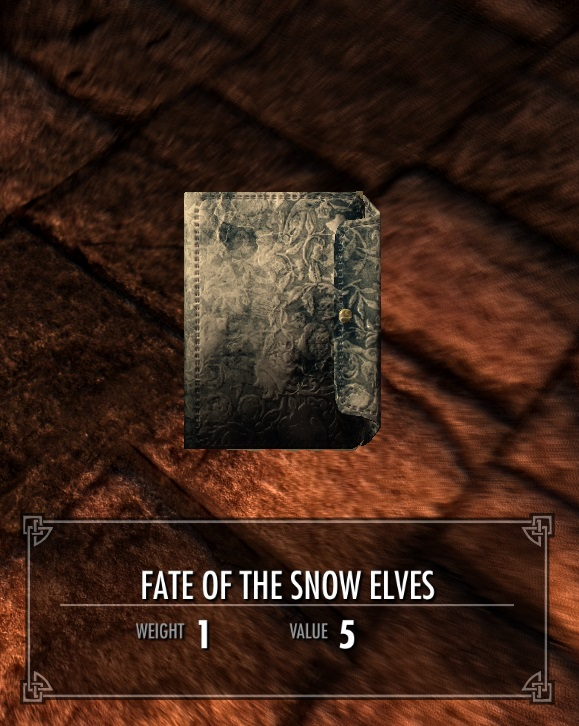 Fate of the Snow Elves