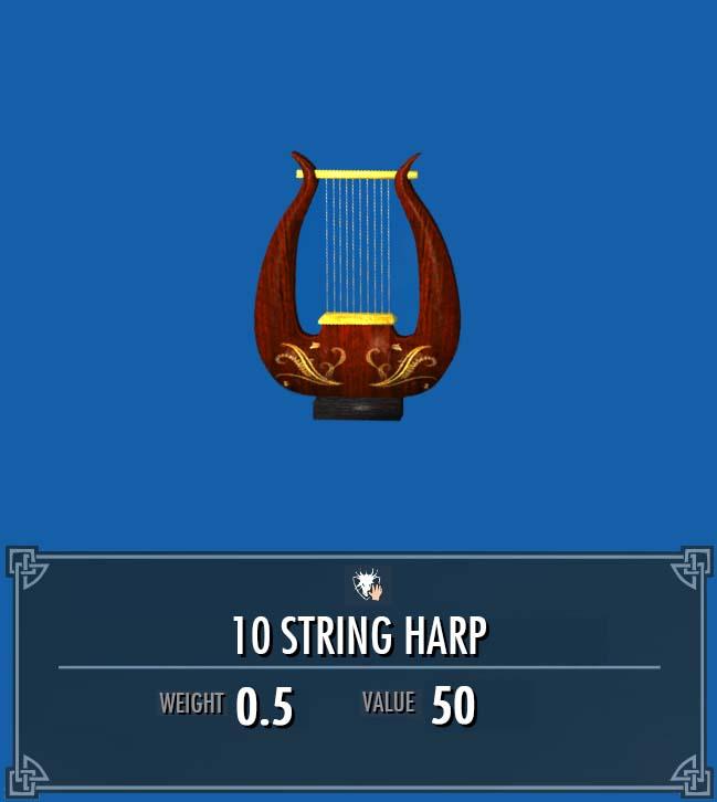 10 String Harp