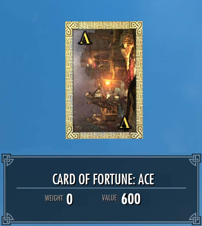 Card of Fortune: Ace