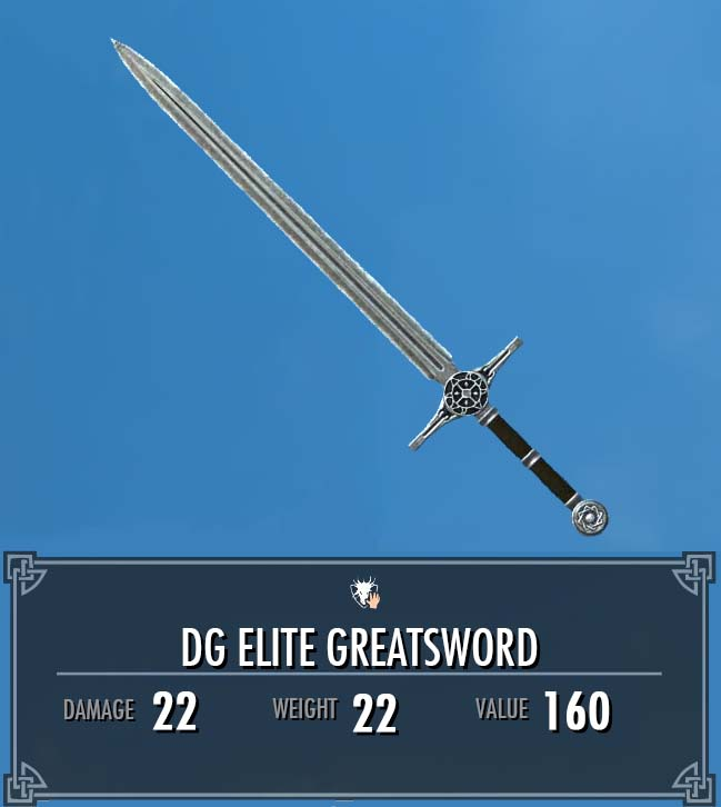 DG Elite Greatsword