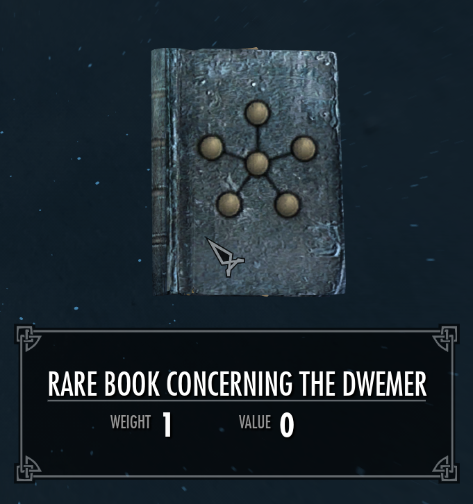 Rare Book Concerning the Dwemer