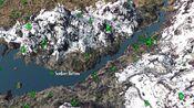 Sunken Barrow on Map