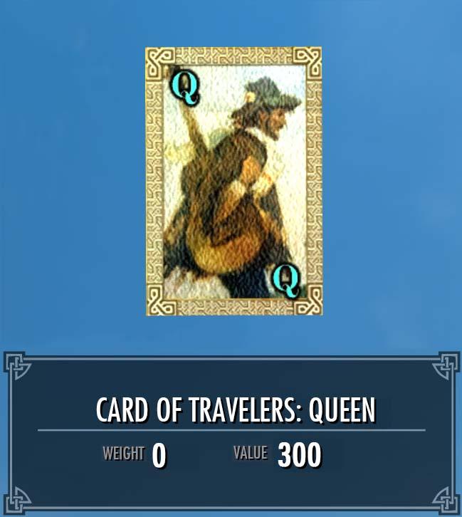 Card of Travelers: Queen