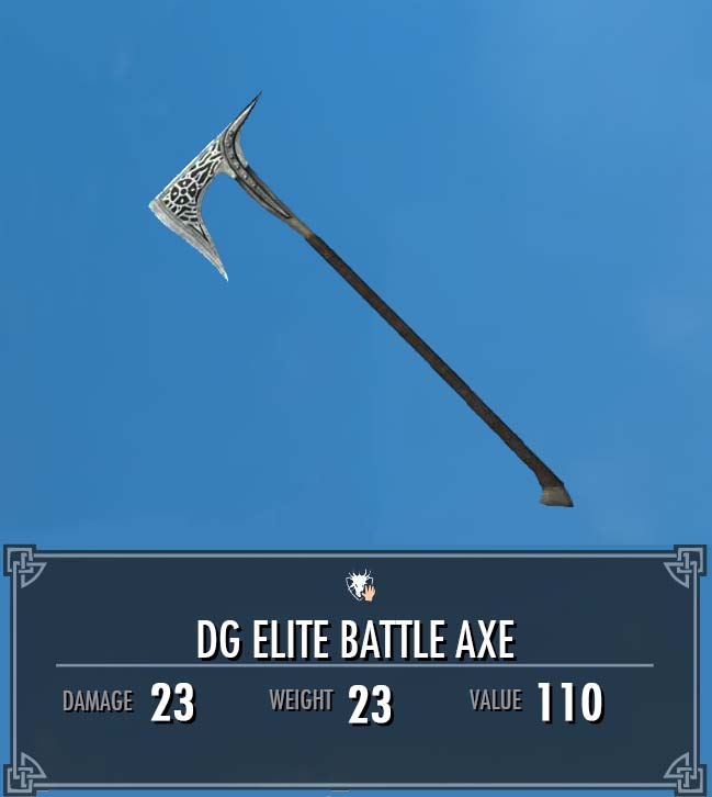 DG Elite Battle Axe