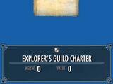 Explorer's Guild Charter
