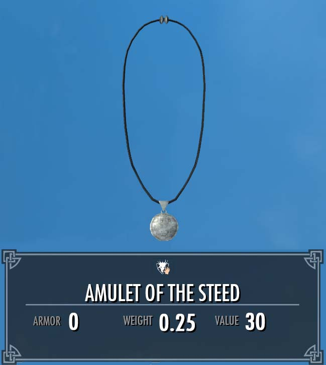 Amulet of the Steed