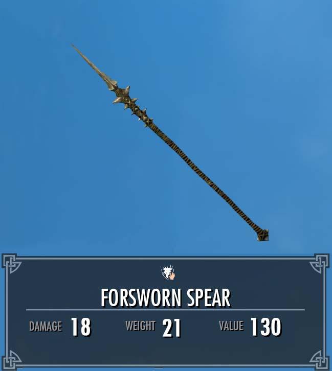 Forsworn Spear