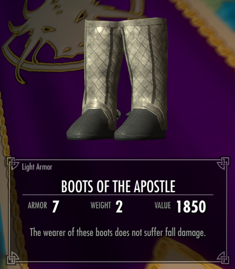 Boots of the Apostle