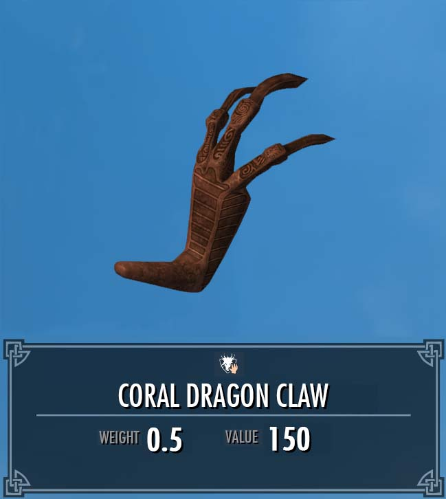 Coral Dragon Claw