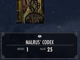 Malrus' Codex