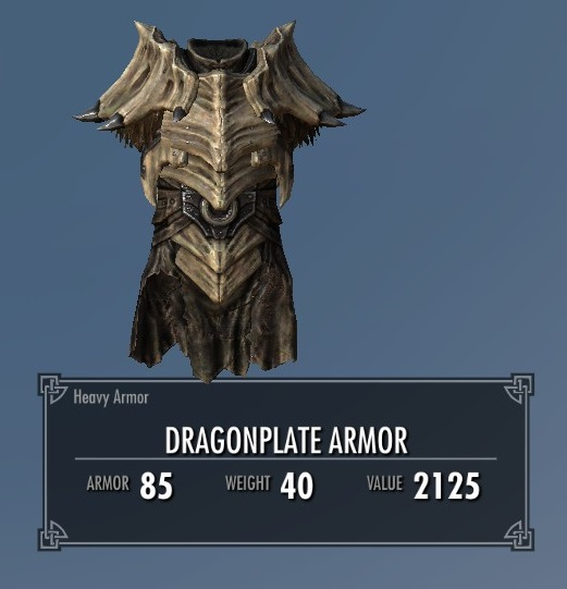 Dragonplate Armor