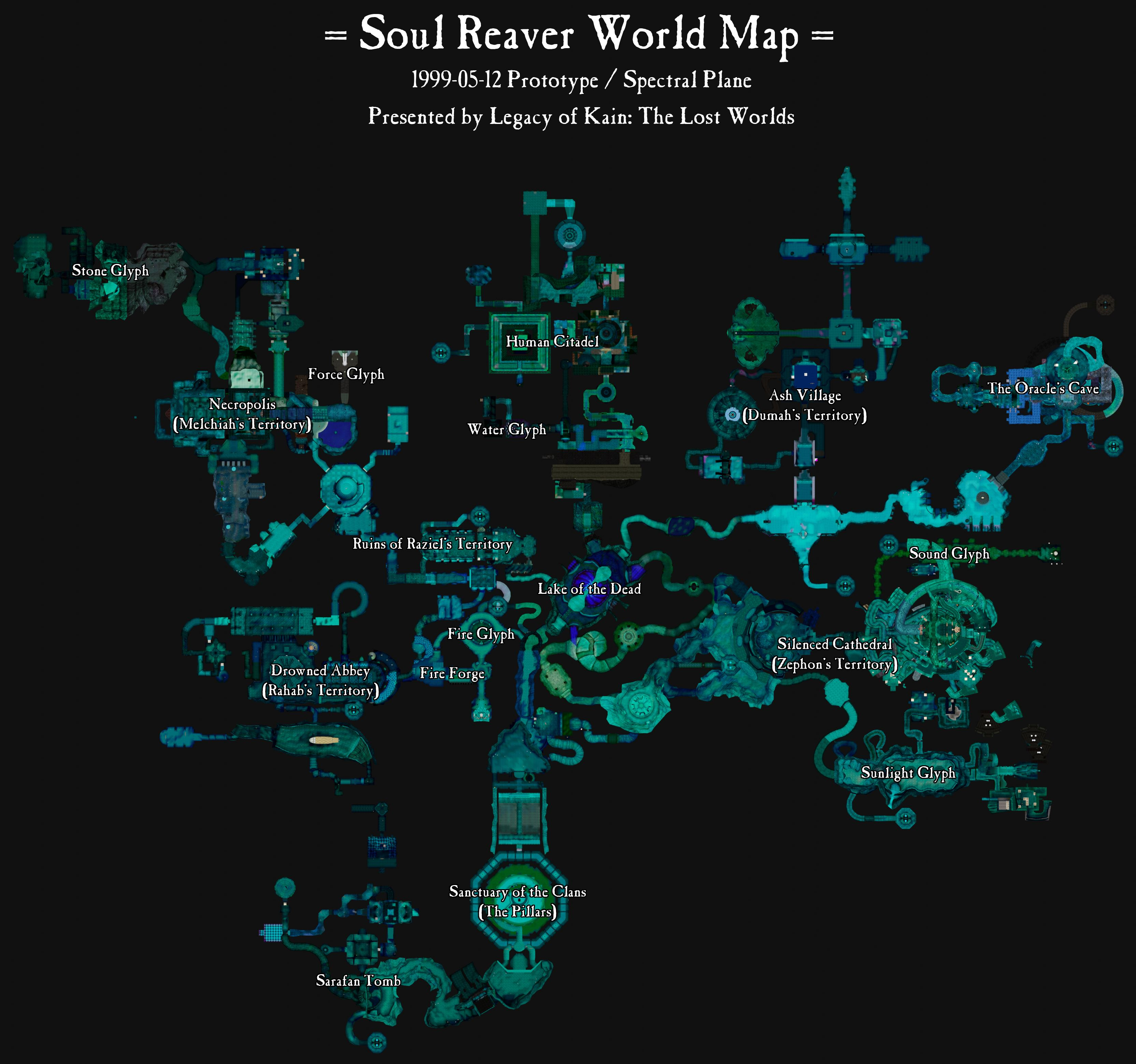 World Map Evolution-01-Maps-Soul Reaver World Map-1999-05-12-Spectral-Annotated.jpg