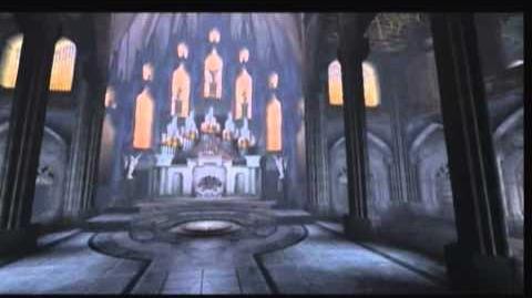 Defiance - 3D enviroment render - Avernus Cathedral