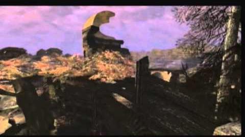 Defiance - 3D enviroment render - The Cemetary
