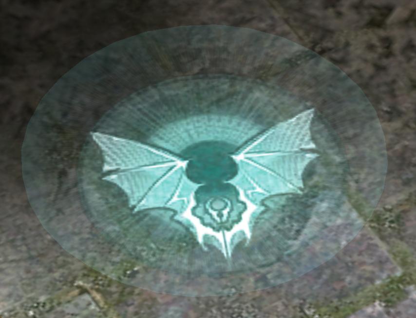 Bat-flight markers