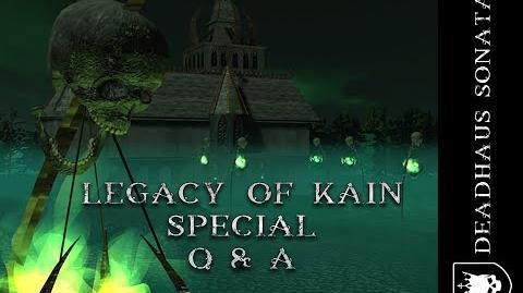 Deadhaus Sonata Legacy of Kain Special Q & A