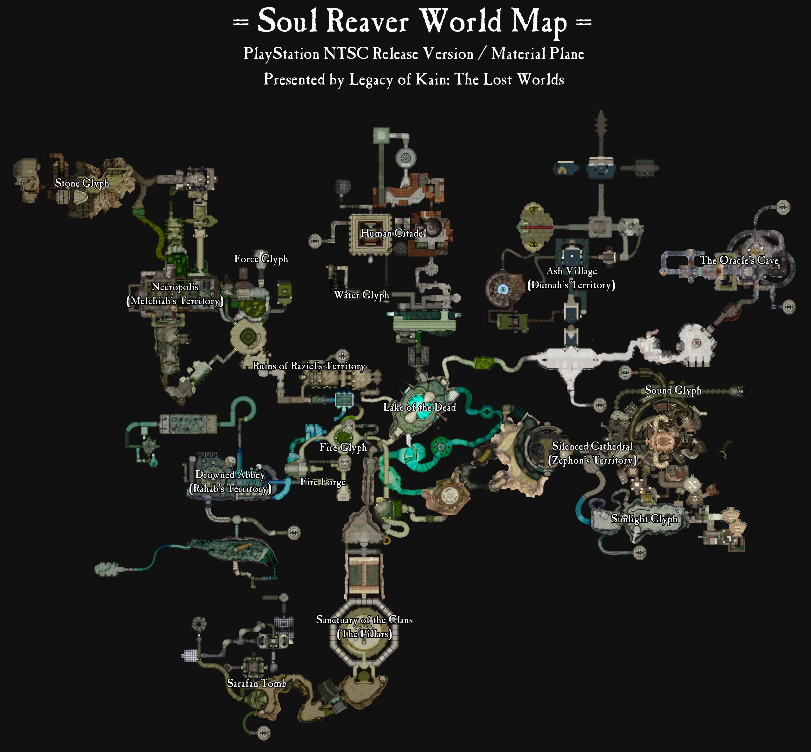 World Map Evolution-01-Maps-Soul Reaver World Map-NTSC Release-Material-Annotated.jpg