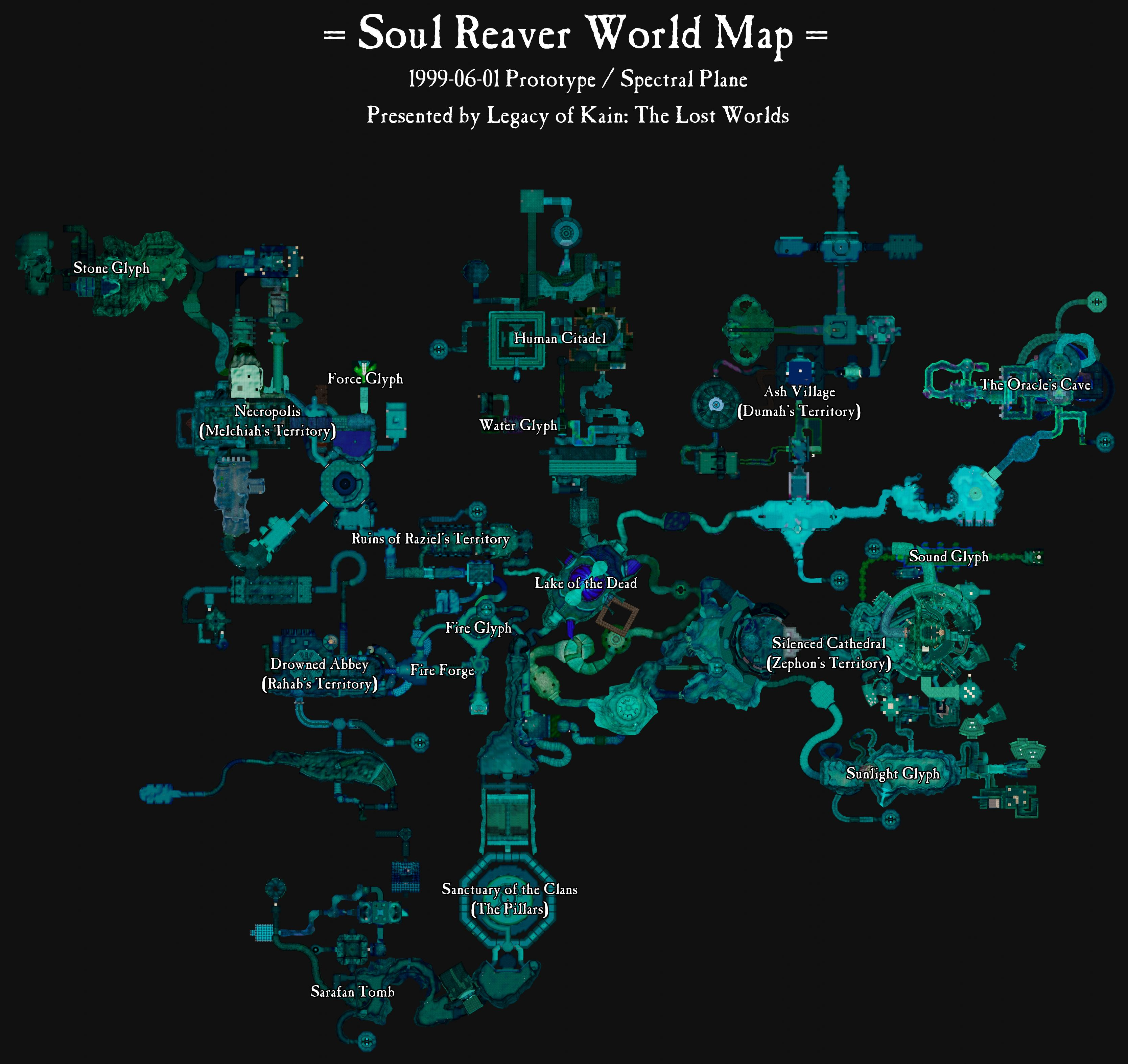 World Map Evolution-01-Maps-Soul Reaver World Map-1999-06-01-Spectral-Annotated.jpg