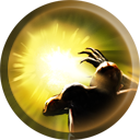 The Sunlight Vial icon as it appears in Nosgoth.