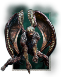 Sentinels as they appear in Nosgoth.