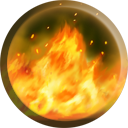 The Fire Wall icon as it appears in Nosgoth.