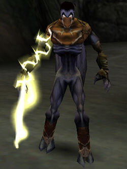 The Ariel Reaver in the PC version of Legacy of Kain: Soul Reaver (enabled with cheat codes)